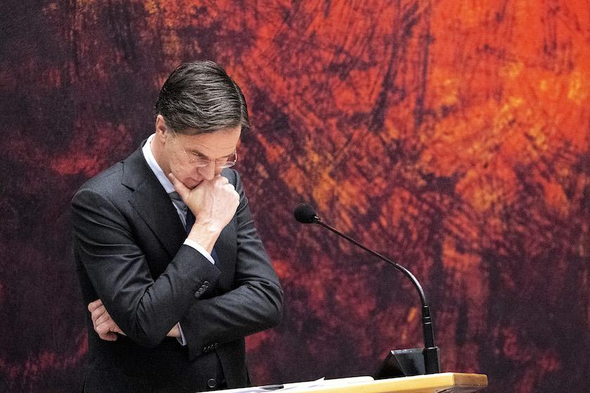 Rutte ziet versoepelingen van de coronamaatregelen maar somber in: 'Anders is de eerstvolgende datum 13 mei'