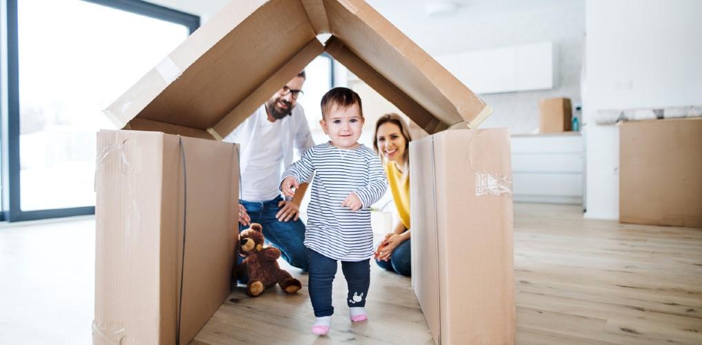 Verhuizen met jonge kinderen, hoe pak je dat aan?