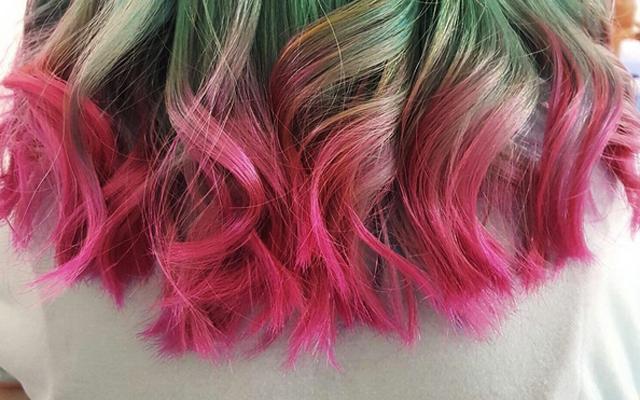 GESPOT: 'watermelon hair' is de fruitigste haartrend ooit