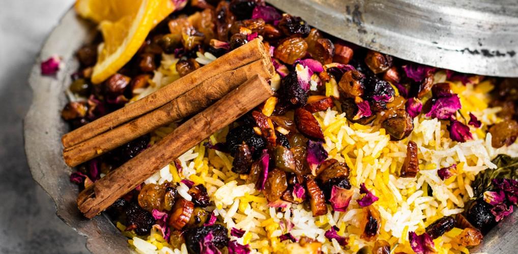 Recept: prachtige Perzische rijst