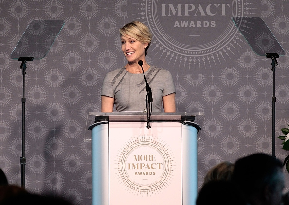 'House of Cards'-actrice Robin Wright eiste evenveel geld als Kevin Spacey