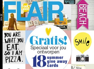 In het blad Flair 34
