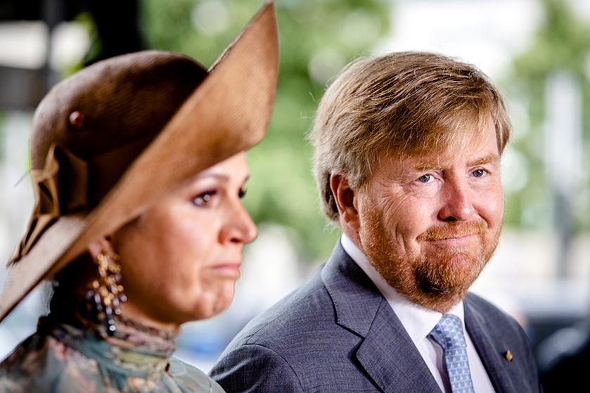 Koningspaar reageert op neerschieten Peter R. de Vries