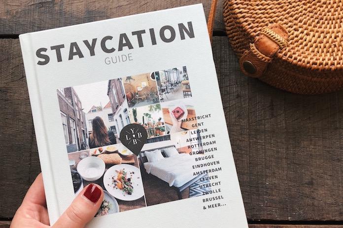 Winnen: 5x het boek 'Staycation Guide' met de beste uittips in eigen land