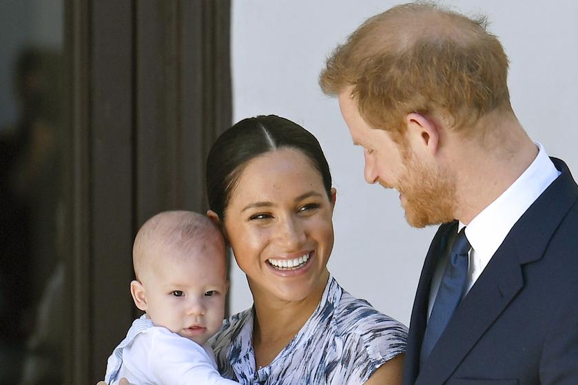 Zien: de kerstkaart van prins Harry, Meghan Markle én zoontje Archie