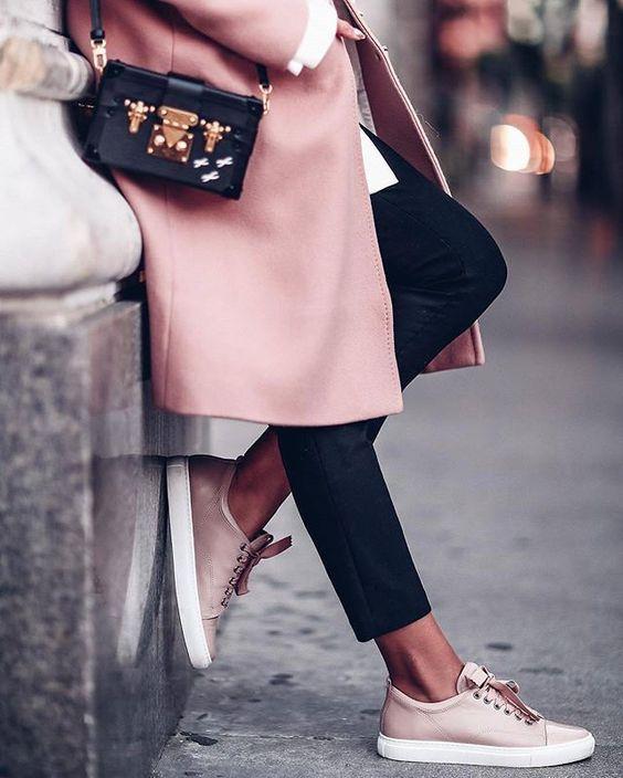 De leukste sneakers zijn pink!