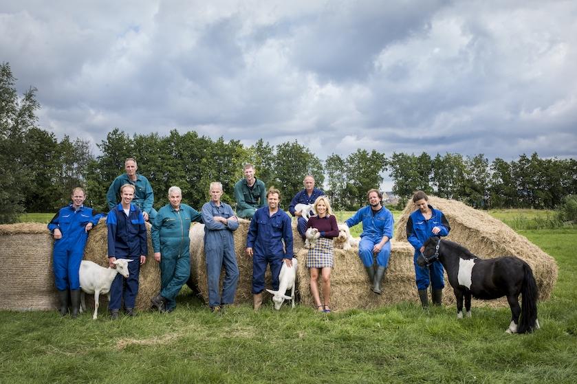 Dit zijn ze dan: de boeren van het nieuwe BzV-seizoen