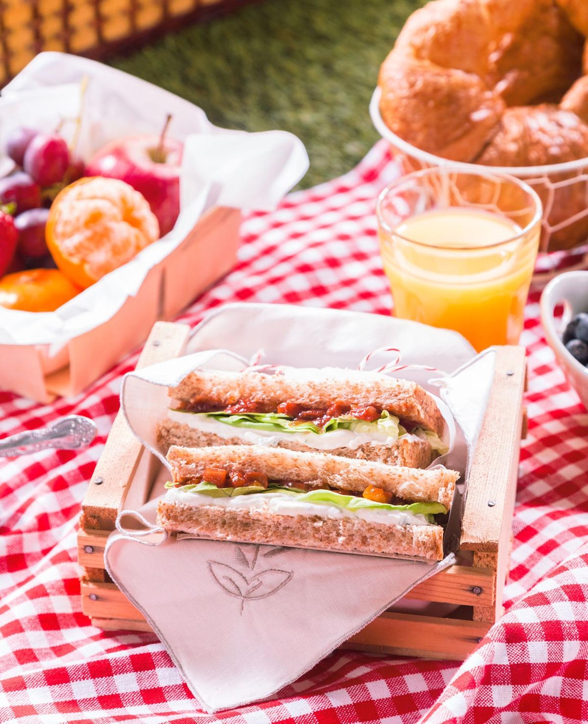 Lekkere picknick hapjes