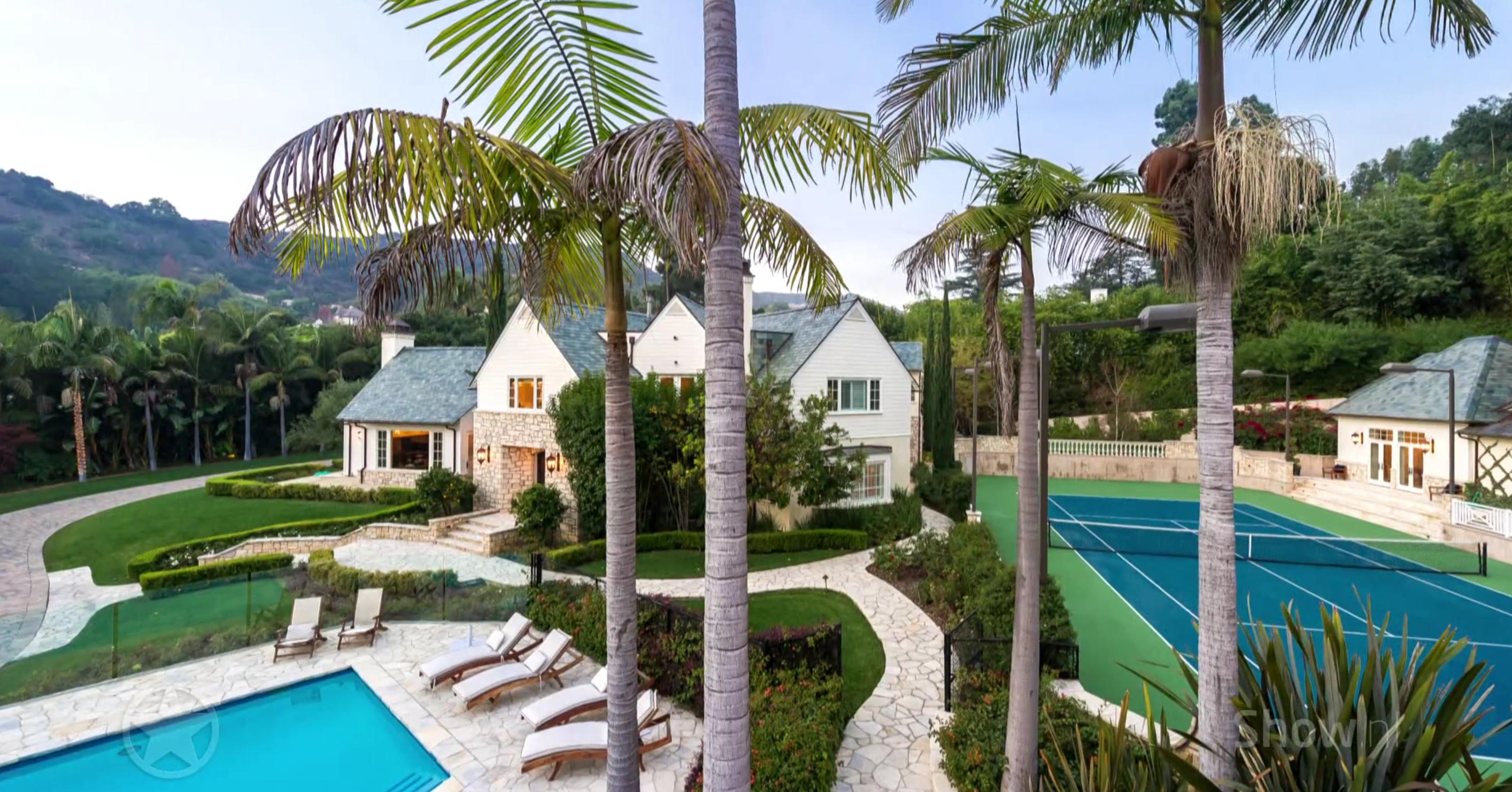 Binnenkijken in het luxe zomerhuis van Mariah Carey