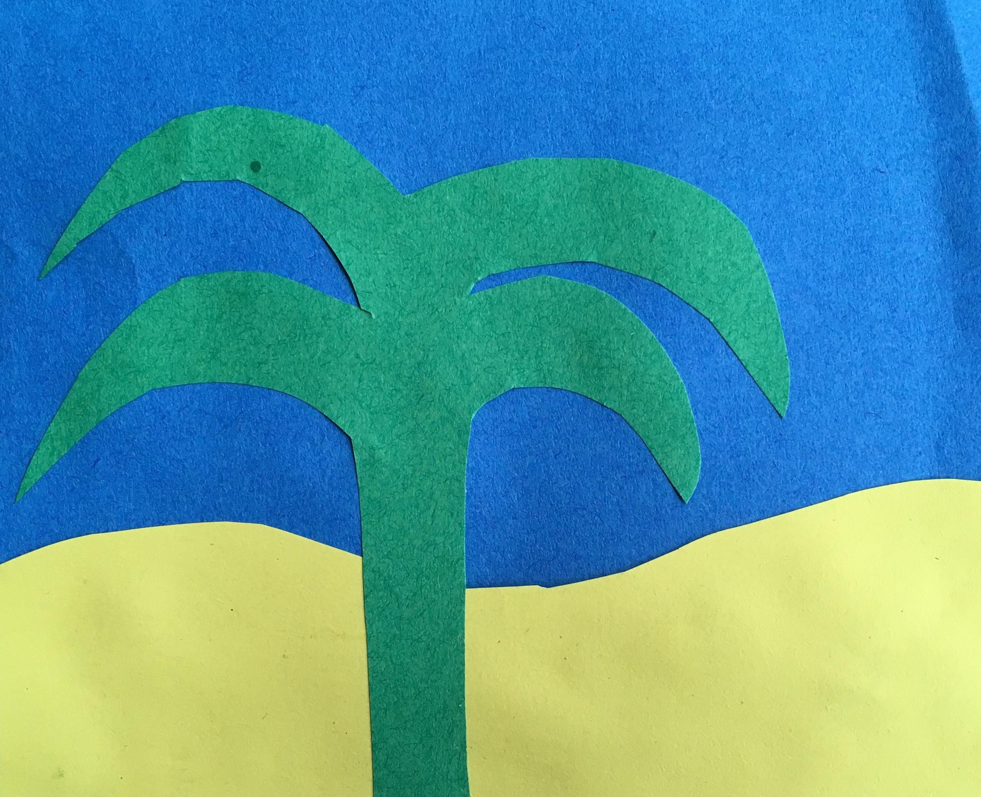 Palmboom knutsel