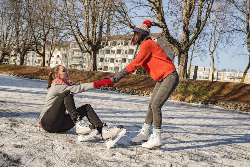 Haal ze maar uit het vet: dít is deze week de beste dag om te schaatsen