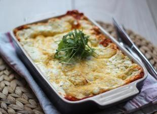 Simpele lasagne