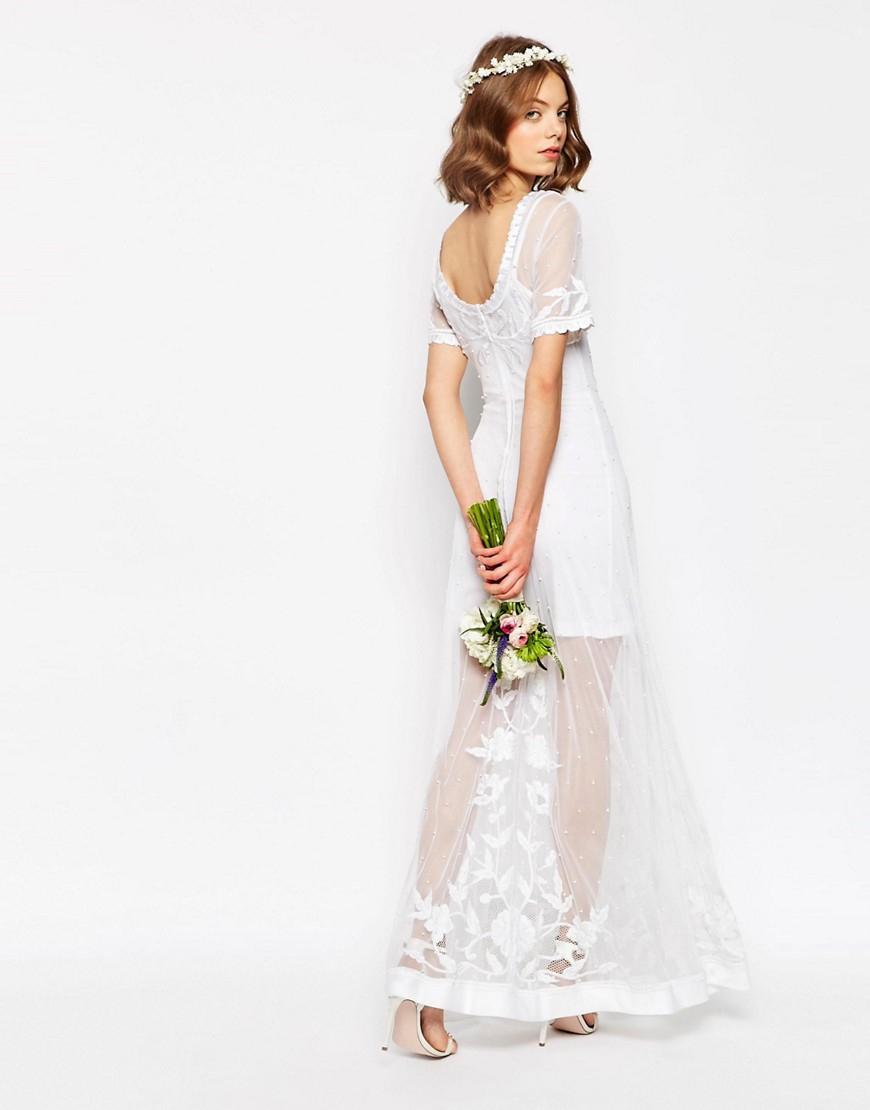 Shoppen: 20 budgetvriendelijke trouwjurken