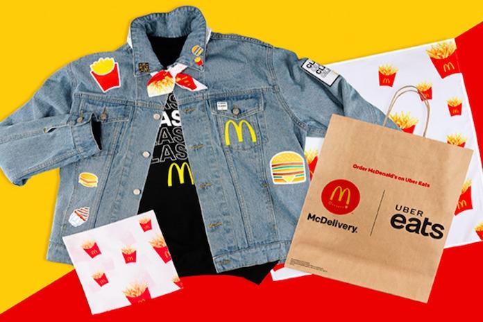 'Eén McFlurry en een fannypack graag!' Ook McDonalds komt met hippe kledinglijn
