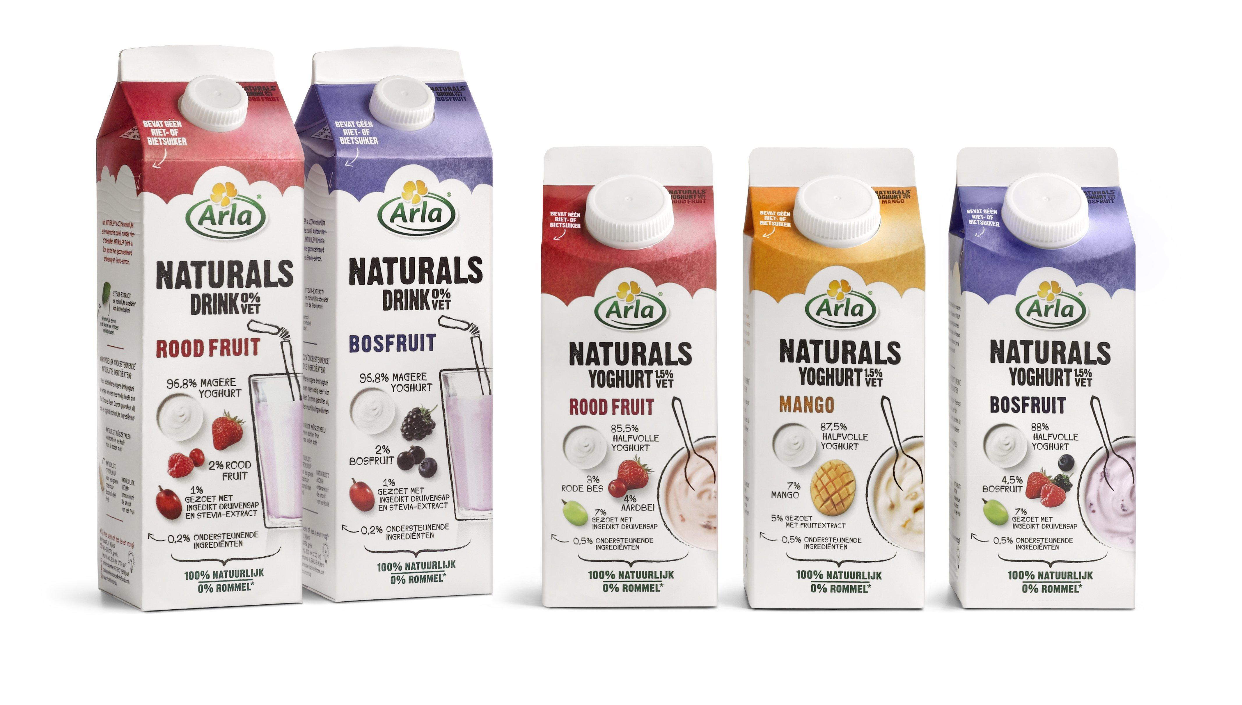 Start je dag positief en gezond met Arla Naturals!
