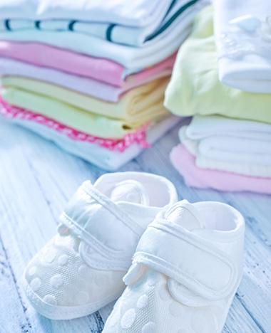 Babykleertjes wassen