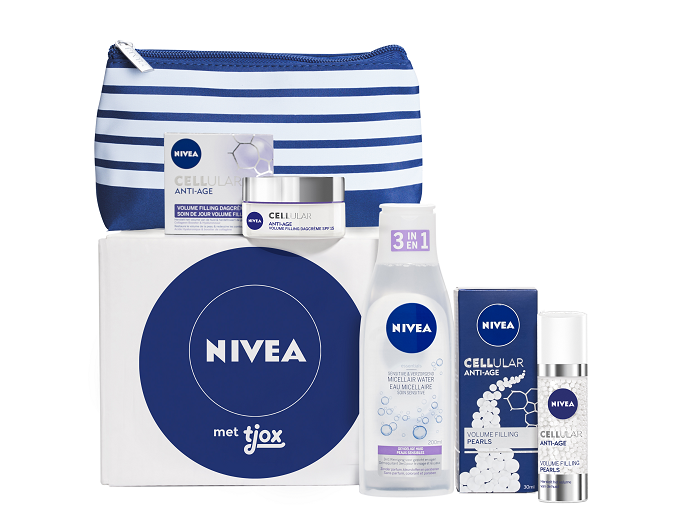 Bestel nu de tjoxvolle box vol voordelige Nivea huidverzorging