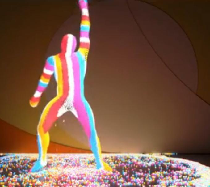Video: zo heb je nog nooit iemand zien dansen