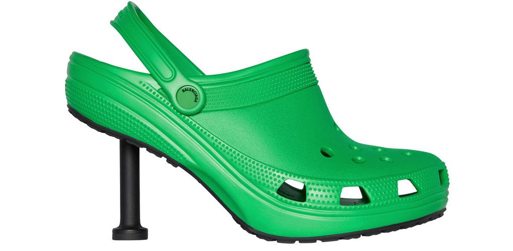 Geen grap: dit modehuis komt met stiletto Crocs