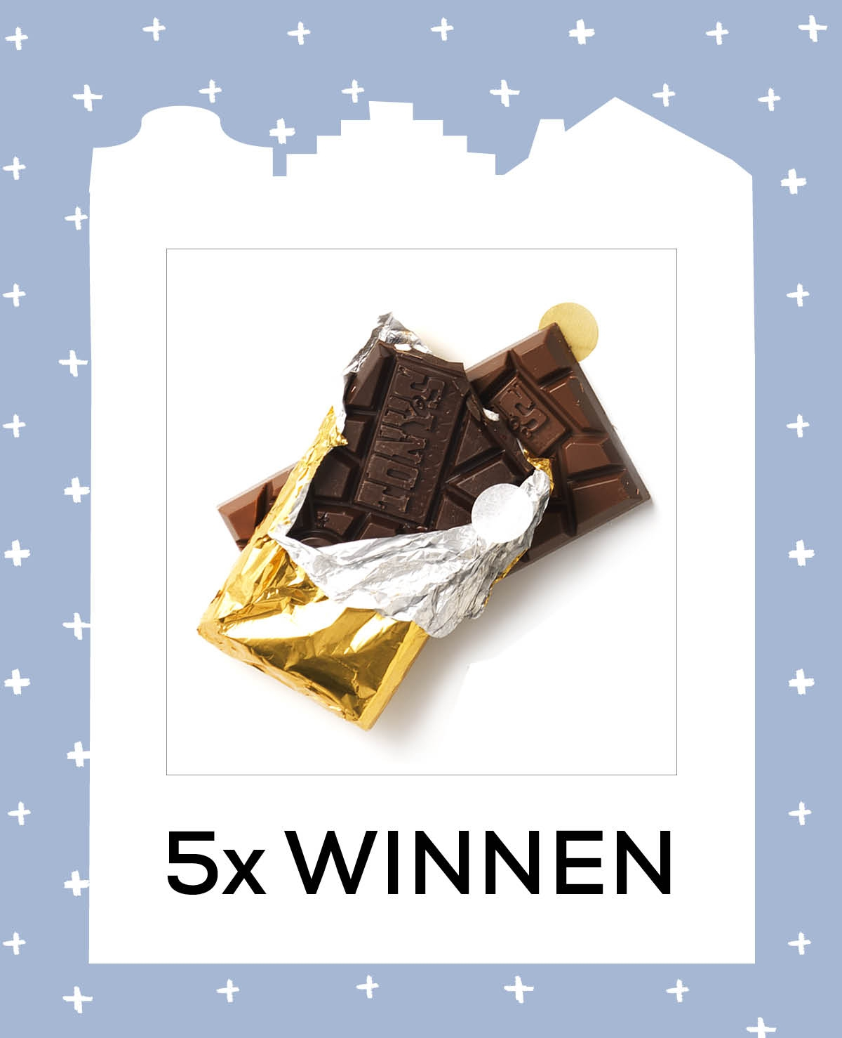 5x Chocoladepakket van Tony's Chocolony