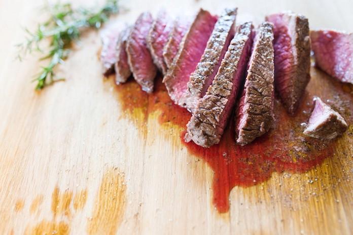 Het 'bloed' uit je stukje vlees is niet wat je denkt