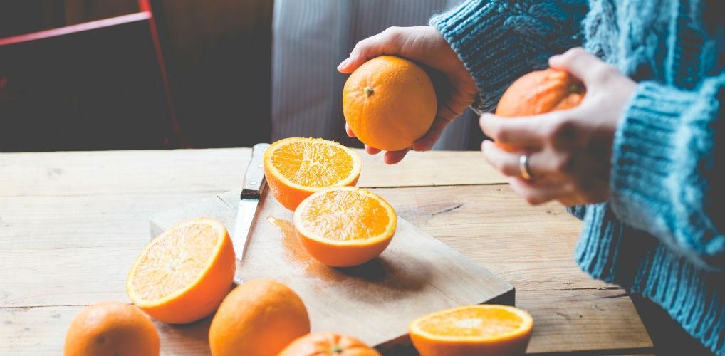 Lifehack: van sinaasappel naar geurkaarsje