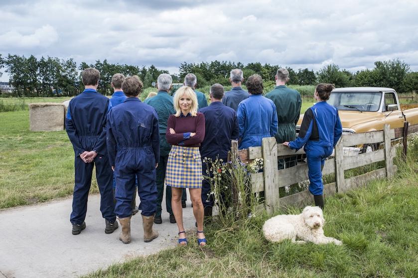 Eerste foto 'Boer Zoekt Vrouw'-boeren is hier én Yvon Jaspers licht alvast tipje van sluier op