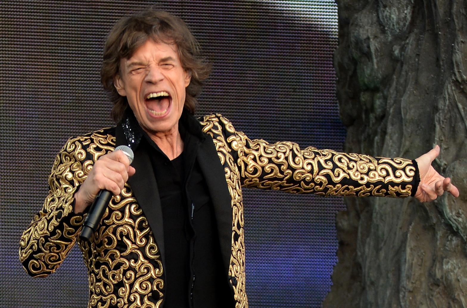 Mick Jagger (73) voor de achtste keer vader geworden