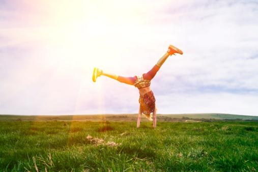 Bewezen: iedere dag de handstand doen is hartstikke gezond!