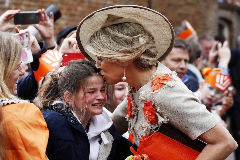 Waarom de 9-jarige Sarah moest huilen op Koningsdag