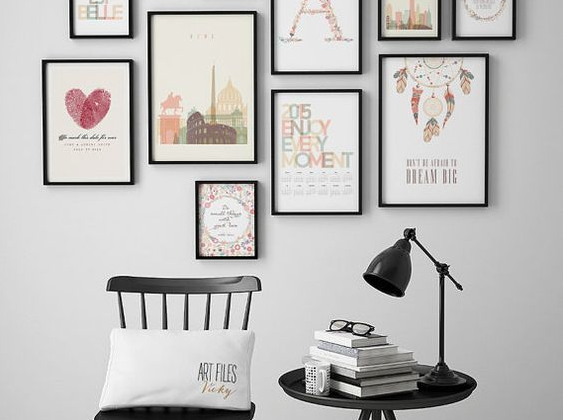 Pinspiration: opvallende muren in huis