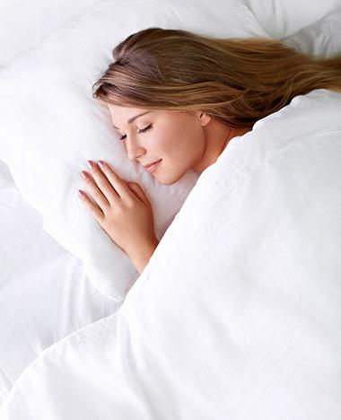 Het trucje om in slaap te vallen