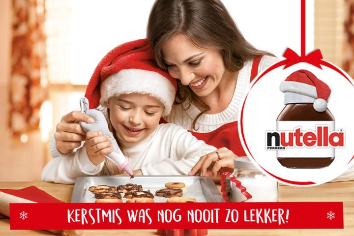 Moet je heen: de allereerste Nutella Christmas Bakery