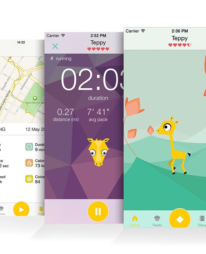 De Tamagotchi-app die jou in shape houdt
