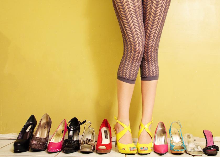 Bewezen: vrouwen hebben gemiddeld 23 paar schoenen in hun kast staan