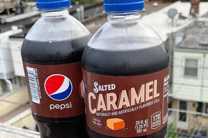 Pepsi brengt een nieuwe, winterse smaak op de markt