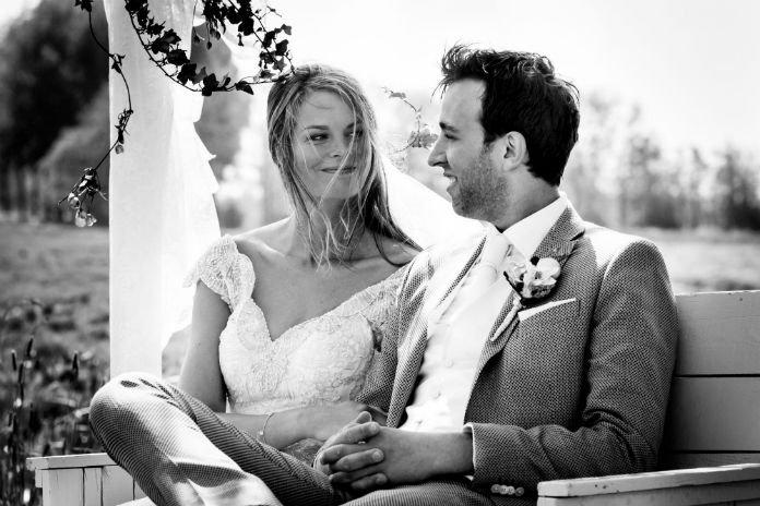 Trouwkiekjes: een kijkje in de bruiloft van Denise en Arjen