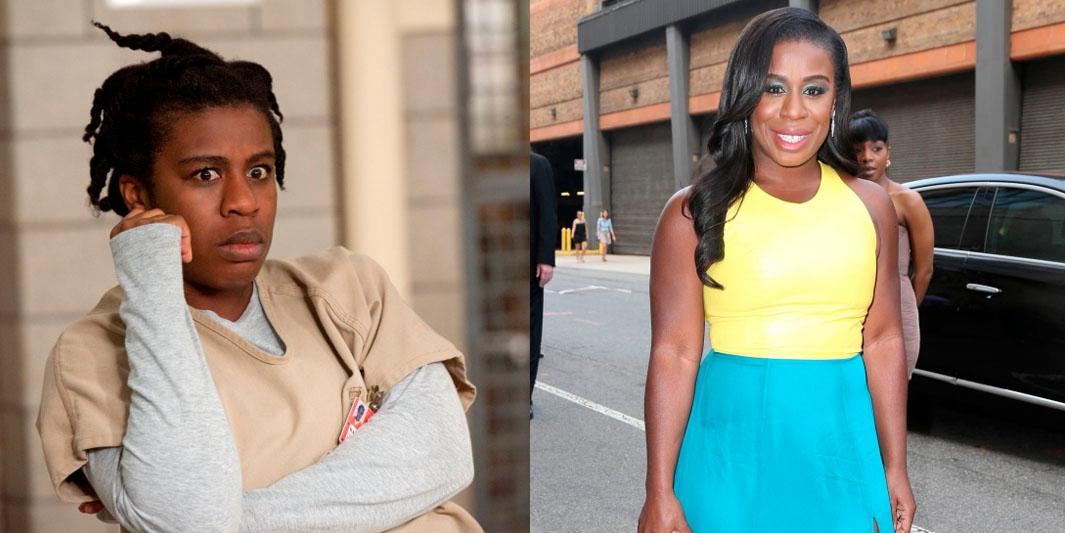Zo zien de actrices van 'Orange Is The New Black' eruit in het echte leven