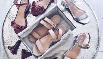 Hebben: schoenen met verwisselbare hak