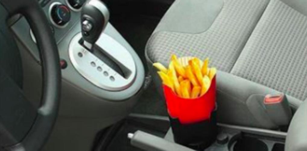 Handig: door deze friethouder kun je nog makkelijker snacken
