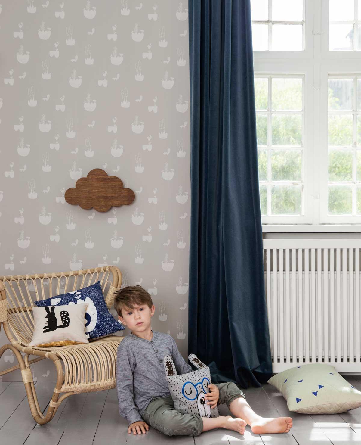 Jolien blogt: Kinderkamer behang