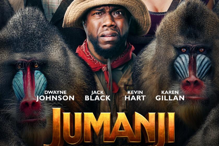 WIN: 3X2 bioscoopkaarten voor 'Jumanji: The Next Level'
