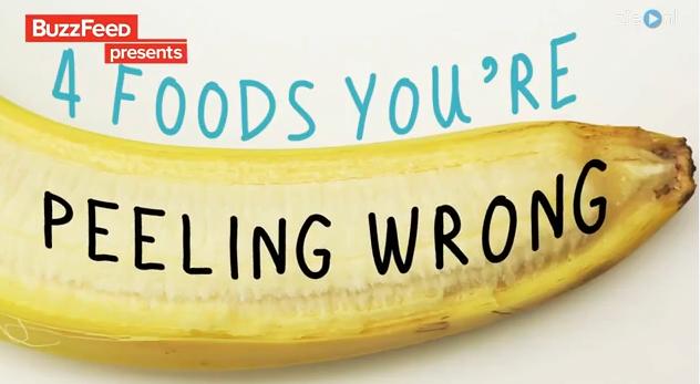 Video: 4x eten dat je al je hele leven verkeerd schilt en hoe het wél moet!