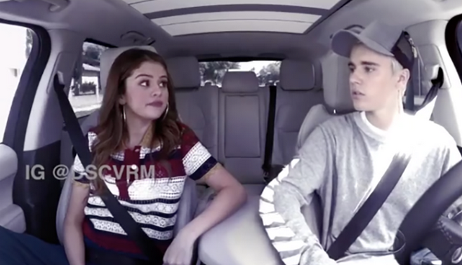 Zien: Justin Bieber en Selena Gomez samen in de Carpool Karaoke