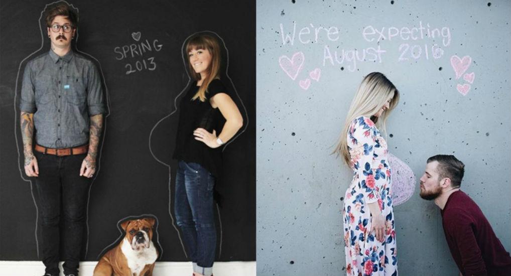 11x manieren om je zwangerschap aan te kondigen