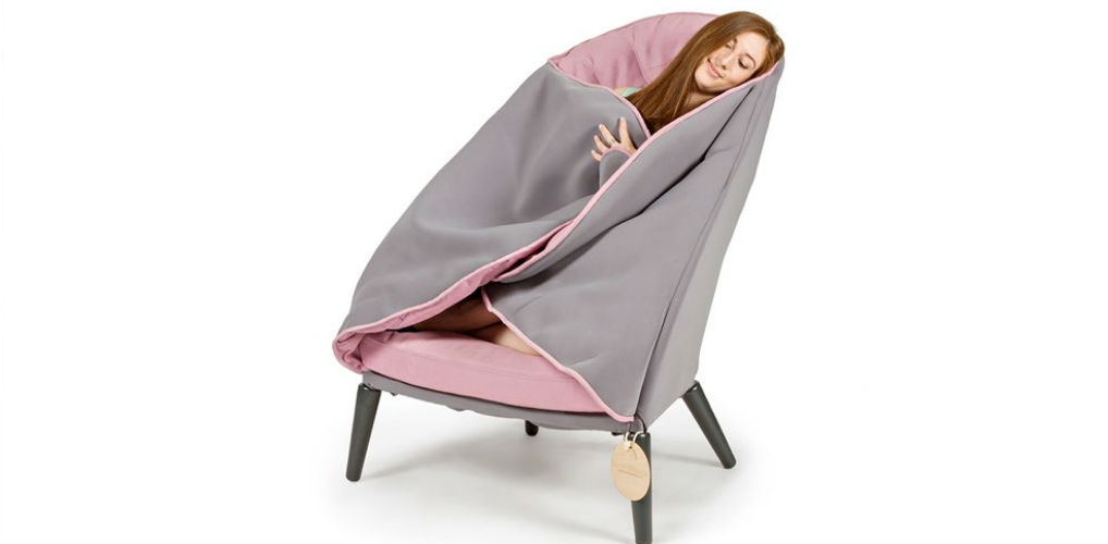 In deze stoel heb je het nooit meer koud