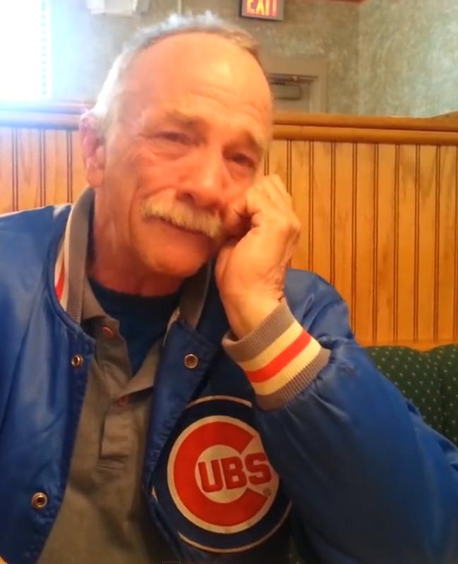 Deze man krijgt te horen dat hij opa wordt