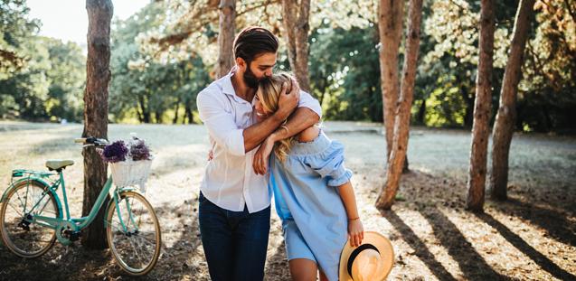 Ben je tijdens je relatie wat aangekomen? Gefeliciteerd, dan zijn jullie gelukkig