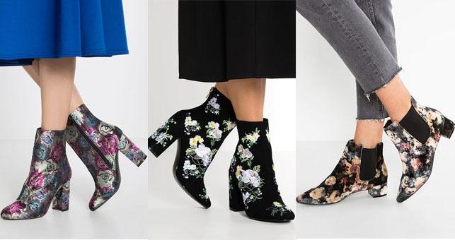 Shoppen: Deze Floral Boots maken je dag dat tikkeltje vrolijker