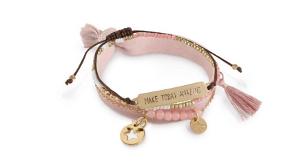 Steun borstkankeronderzoek met het nieuwe armbandje van Pink Ribbon